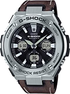 Casio G-Shock G-Steel Analogue/Digital Black Brown Solar Mens Watch GSTS130L-1A GST-S130L-1ADR