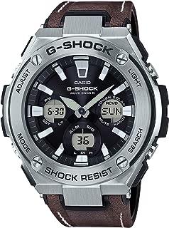 Casio G-Shock G-Steel Analogue/Digital Black Brown Solar Mens Watch GSTS130L-1A GST-S130L-1ADR