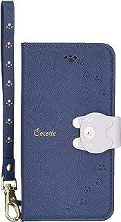 NATURALdesign iPhone8/7/6s/6兼用手帳型ケース Cocotte Navy iP7-COT06 143×77×17mm