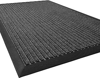 DEXI Outdoor Door Mat, 29x17 Durable Rubber Doormat for Indoor Outdoor, Heavy Duty, Waterproof, Low-Profile Front, Back Do...