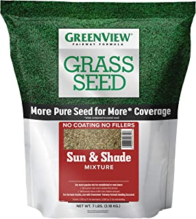 GreenView 2829337 Fairway Formula Grass Seed Sun & Shade Mixture, 7 lb.