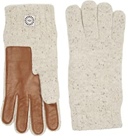 UGG - Knit Gloves w/ Smart Leather Palm