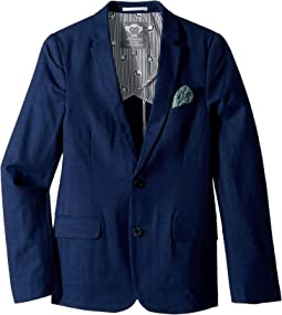 Structured Blazer with Pocket Detail (Toddler/Little Kids/Big Kids)