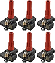 Pack of 6 Ignition Coil for 2001-2009 Subaru Outback 2008 2009 Legacy Tribeca 2006 2007 B9 Tribeca H6 3.0L 3.6L C1326 UF287 UF-287