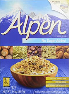 One 14 oz Alpen Cereal, No Sugar Added