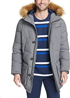 Men's Tall Quilted Snorkel Coat