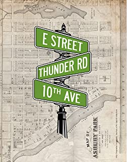 BRUCE SPRINGSTEEN Inspired Poster Print | 11 x 14 | Street Signs | Asbury Park | New Jersey | Thunder Road