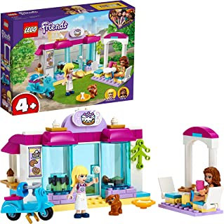 LEGO 41440 Friends Heartlake City Bakery Playset, Café Toy for Kids 4 + Years Old with Stephanie and Olivia Minidolls