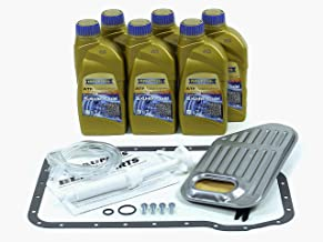 Blau F2A1007-A Automatic Transmission Fluid Filter Kit - Compatible with 1996-06 Audi A4 w/ 5 Speed Tiptronic
