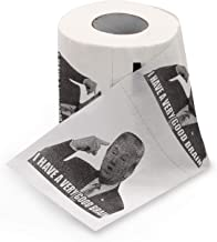"""Gigs Donald Trump'S I Have A Good Brain Toilet Paper - The face of """"I Have a Good Brain"""" Printed on Each Square Throughout The Entire roll. Great and Joke for Trump's Lovers and Haters"""