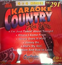 Chartbuster Karaoke Country Hot Hits Vol 291