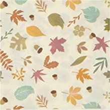 Cocktail Napkins - 150-Pack Luncheon Napkins, Disposable Paper Napkins Thanksgiving Dinner Party Supplies, 2-Ply, Autumn Leaves Design, Unfolded 13 x 13 Inches, Folded 6.5 x 6.5 Inches