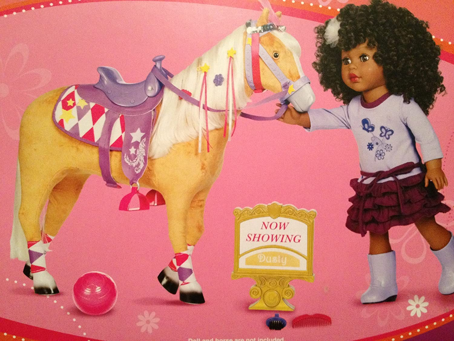 My Life As Circus Horse Accessory Kit, Play Accessory for 18  Dolls Like American Girl Saige Felicity Penny