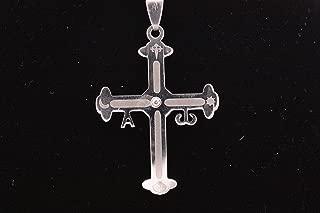 Colgante en Acero, Cruz de Asturias (4,3 Cm), Cruz de la victoria