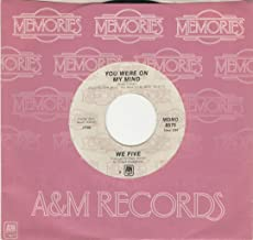 We Five: You Were On My Mind B/w Let's Get Together