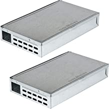 Victor M310SSR Victor TIN CAT Live Catch Mouse Trap-2 Pack, Silver