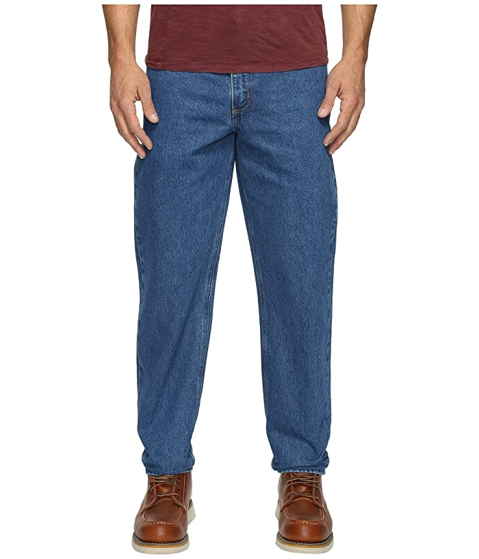 Carhartt  Relaxed Fit Tapered Leg Jean (Darkstone) Mens Jeans
