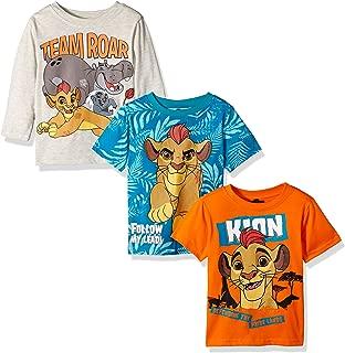 Disney Boys' Lion Guard 3 Pack T-Shirts