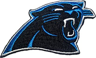 NFL North Carolina Panthers Embroidered Logo Patch Size 2.95