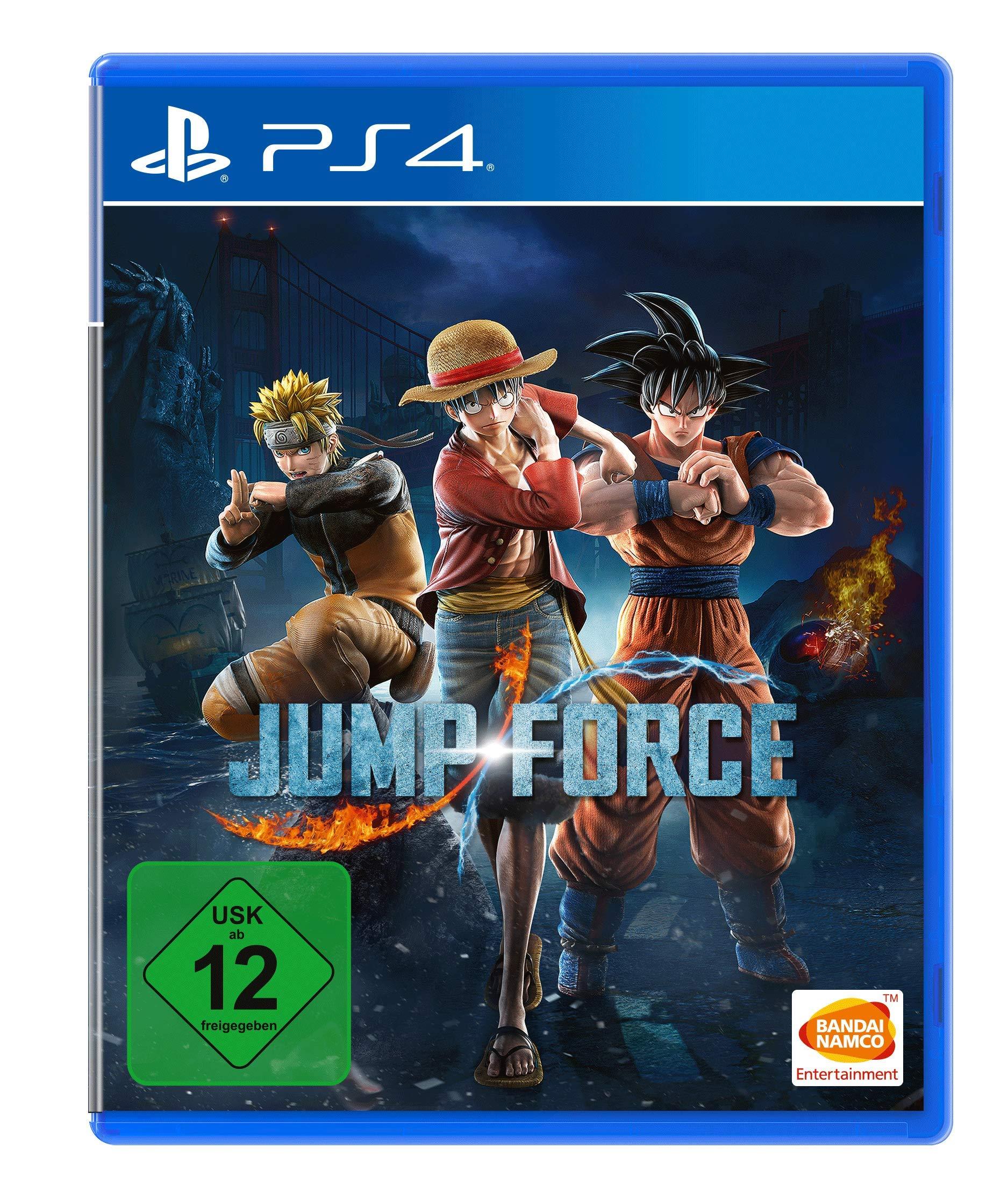 Jump Force - PlayStation 4 [Importación alemana]: Amazon.es ...