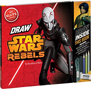 Klutz Star Wars Rebels: Be a Trooper! Draw Right Inside This Book Craft Kit