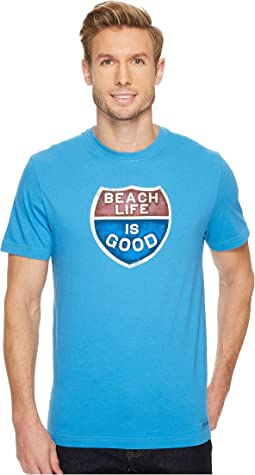Beach Life is Good® Crusher Tee