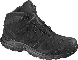 Salomon Men's XA Forces Mid Backpacking Boot, Black, 9