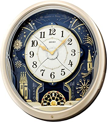 Amazon Com Seiko Melodies In Motion Clock Home Amp Kitchen