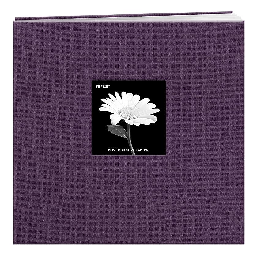 Pioneer 023602636538 12-Inch Fabric Frame Scrapbook, Wildberry Purple, 12