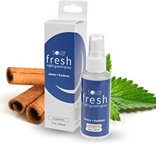 SOVA FRESH Mouth Guard Spray Cleaner and Freshener for Night Dental Mouthguard