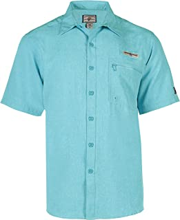 Hook & Tackle® Men's Tamarindo | Short Sleeve | Vented | UV-Sun Protection | Performance Fishing Shirt