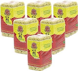 [6x 500 g] MARCA DE LARGA DURACIÓN Schnellkochende Nudeln / Quick Cooking Noodles / Wok / Mie