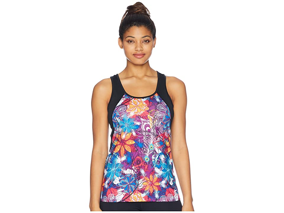 Skirt Sports Take Five Tank Top (Temper Tantrum Print/Black) Women