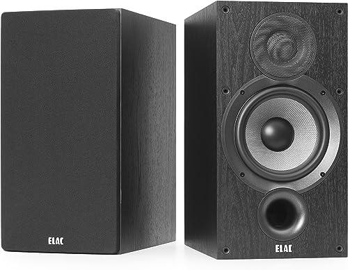 Elac Debut 2.0 B6.2 120W Negro Altavoz - Altavoces (De 2 vías, Alámbrico, 120 W, 44-35000 Hz, 6 Ω, Negro)
