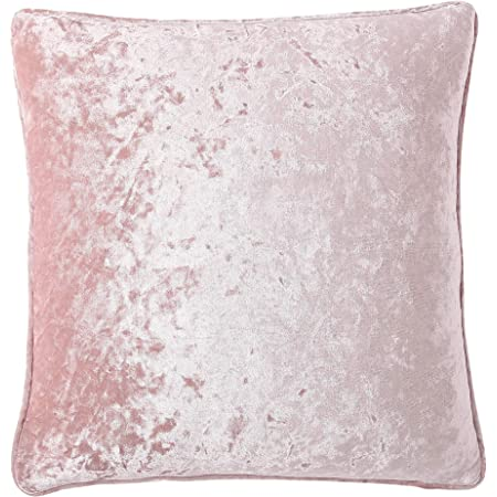 Custom made Pink Decadence Luxury crushed Velvet Cushion Pillow Cover