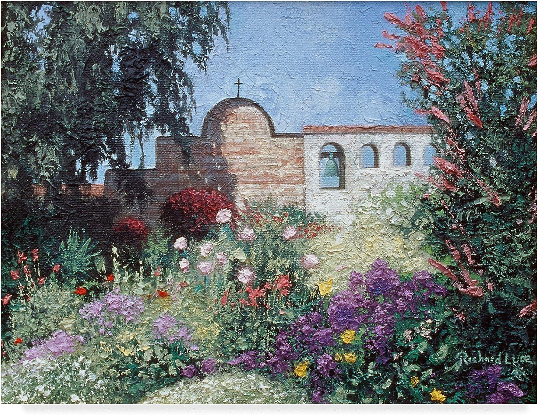 San Juan Capistrano by Richard Luce, 14x19Inch