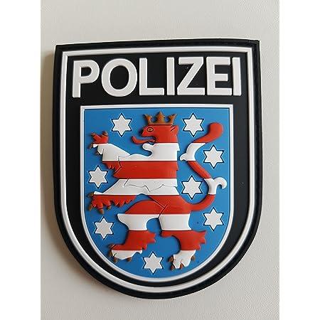 Atg Ärmelabzeichen Polizei Thüringen 3 D Rubber Patch Farbig Auto