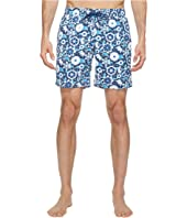 Mr. Swim - Lace Floral Printed Dale Swim Trunk