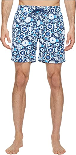 Lace Floral Printed Dale Swim Trunk