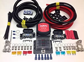 2MTR PROFESSIONAL CARGO SPLIT CHARGE KIT 12V 140A AMP RELAY 110AMP CABLE SCKC312