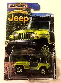 Matchbox 1998 Jeep Wrangler Anniversary Edition