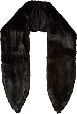 Faux-Real Faux Fur Scarf