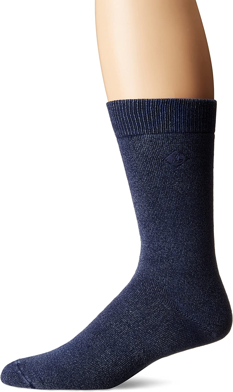 Max 55% OFF Bargain sale Sperry mens Solid Salt Wash Full Socks Cushion 1 Pack Crew