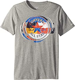 Converse Kids - Retro Color Block Tee (Big Kids)