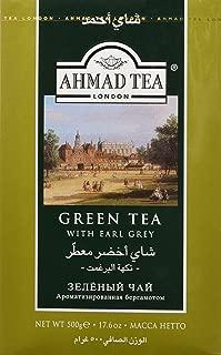 Ahmad Green Tea with Earl Grey