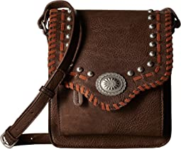 American West Los Alamos Crossbody Flap Bag