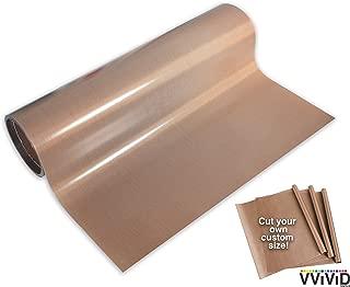 VViViD Teflon Coated Non-Stick Fibreglass Heat Transfer Bulk Roll (15ft x 16
