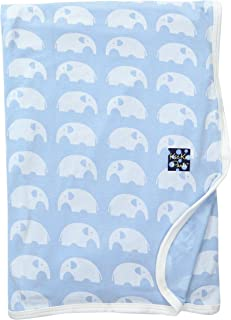 KicKee Pants Print Swaddling Blanket | Geology and Meteorology Collection |