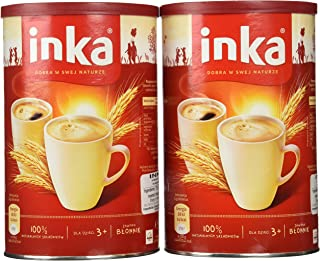 Inka 2 Cans of Instant Grain Coffee Drink 7oz Each