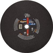Norton Gemini Free Cut Large Diameter Reinforced Abrasive Cut-off Wheel, Type 01 Flat, Aluminum Oxide, 1